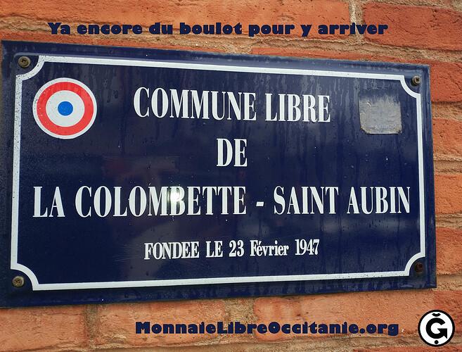 Commune Libre Colombette - Saint Aubin- mq