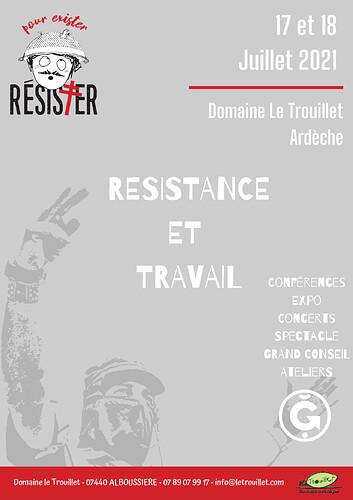 Affiche Resister 2021 g1