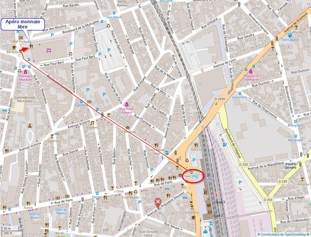 brasserie OpenStreetMap