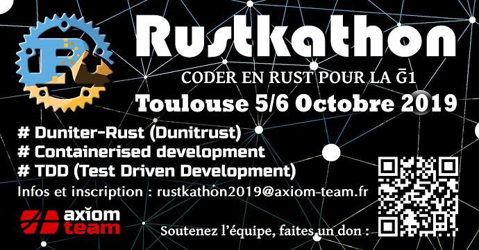 affiche rustkathon